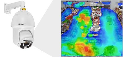 DH-SD10A248V-HNI - Funkcja mapy ciepła.