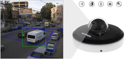 DH-SD1A203T-GN - Inteligentna analiza detekcji obrazu.