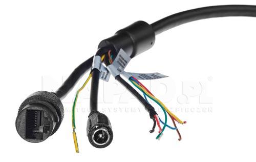 DH-SD49225T-HN - Przewody połączeniowe w kamerze IP Dahua.