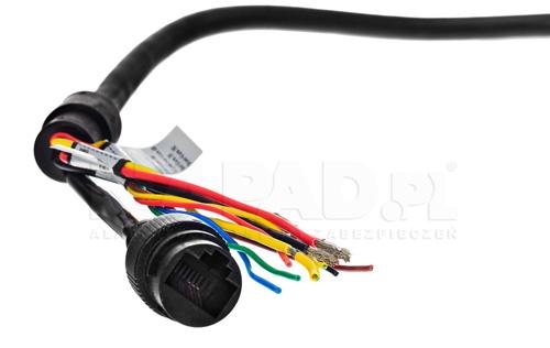DH-SD50230U-HNI - Przewody połączeniowe w kamerze IP Dahua.