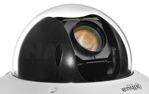 SD52C225I-HC - Wbudowany obiektyw o ogniskowej 4.8~120mm.