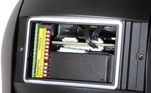 DH-SD59230I-HC - Mikro przełączniki w kamerze PTZ.