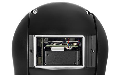 DH-SD59230U-HNI - Slot karty pamięci w kamerze IP Dahua.
