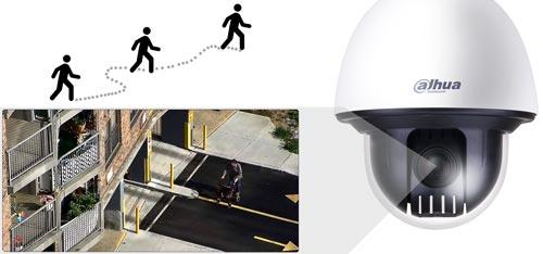 DH-SD60230U-HNI - Funkcja Auto-tracking w kamerze PTZ Dahua.