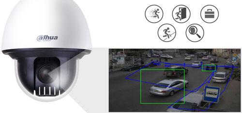 DH-SD60430U-HNI - Inteligentna analiza detekcji obrazu.