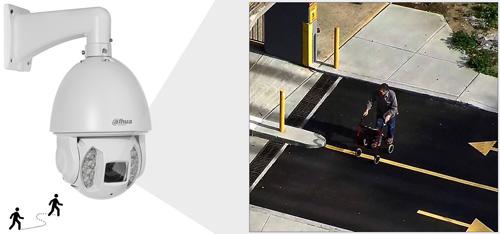 DH-SD6AE240V-HNI - Funkcja Auto-tracking w kamerze PTZ Dahua.