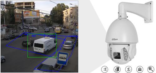 DH-SD6AE530U-HNI - Inteligentna analiza detekcji obrazu.