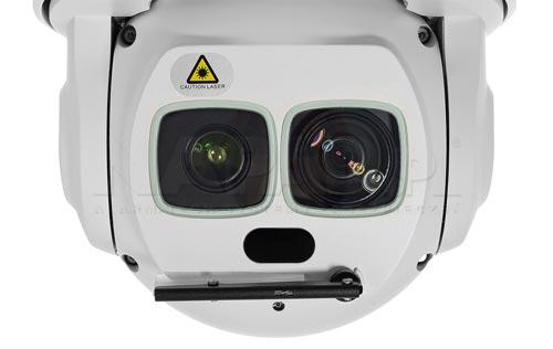 DH-SD6AL245U-HNI - Nowoczesny oświetlacz laserowy w kamerze PTZ Dahua.