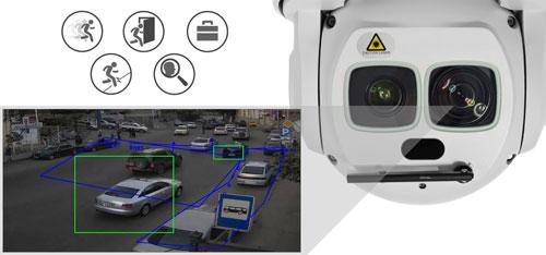 DH-SD6AL245U-HNI - Inteligentna analiza detekcji obrazu.