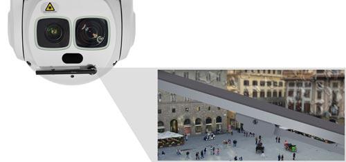 DH-SD6AL245U-HNI - Kamera IP PTZ Dahua z wbudowaną wycieraczką.