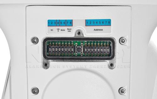 DH-SD6C225I-HC - Mikro przełączniki w kamerze PTZ.