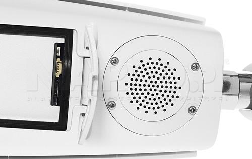 Wbudowana syrena w kamerze termowizyjnej Dahua.
