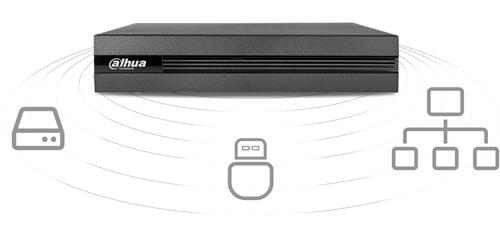 DH-XVR1B08 - Sposoby archiwizacji nagrań.