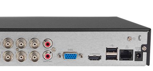 DH-XVR1B16 - Porty USB generacji 2.0.