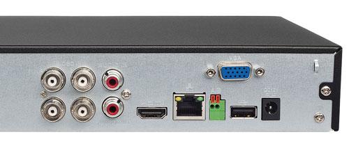 DH-XVR5104HS-X1 - Port USB generacji 2.0.