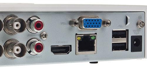 DH-XVR5104C-4KL-X - Porty USB generacji 2.0.