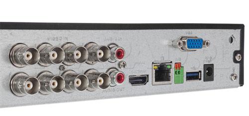 DH-XVR5108HS-4KL-X - Tylny panel rejestratora XVR 4.0