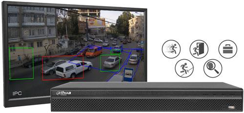 DH-XVR5216AN-X / DH-XVR5216A-X - Wbudowana analiza wideo.