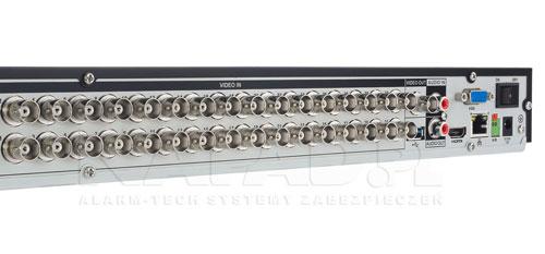 DH-XVR5232AN-X - Tylny panel rejestratora XVR 4.0