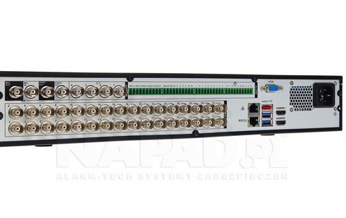 DH-XVR5432L-X - Tylny panel rejestratora XVR 4.0