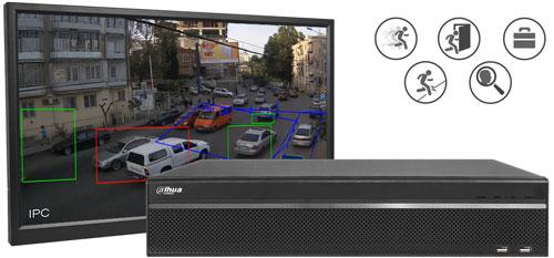 DH-XVR5832S-X - Wbudowana analiza wideo.