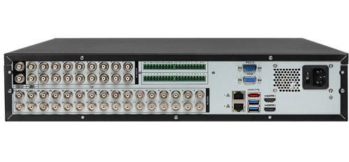 DH-XVR5832S-X - Tylni panel rejestratora XVR 32CH.