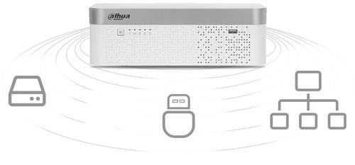 DH-XVR7104E-4KL-X - Sposoby archiwizacji nagrań.