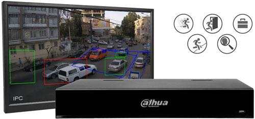 Wbudowana analiza wideo dla kamer Analog HD.