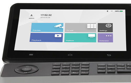 """DHI-NKB5000-F - Nowoczesny ciekłokrystaliczny wyświetlacz LCD TFT 10,1"""""""