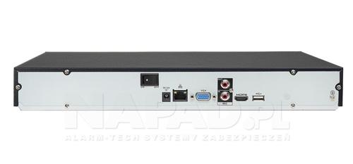 Tylni panel rejestratora Dahua.