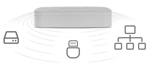 DHI-NVR2108-4KS2 / DHI-NVR2108-8P-4KS2 - Sposoby archiwizacji nagrań.