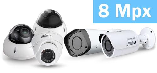 DHI-NVR2108-4KS2 / DHI-NVR2108-8P-4KS2 - Obsługa kamer wysokiej rozdzielczości.