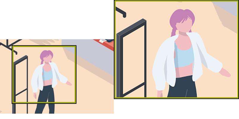 Cyfrowe powiększenie obrazu w rejestratorze Dahua