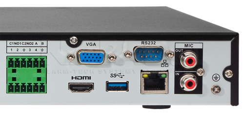 DHI-NVR5216-4KS2 / DHI-NVR5216-16P-4KS2E - Port USB generacji 3.0.