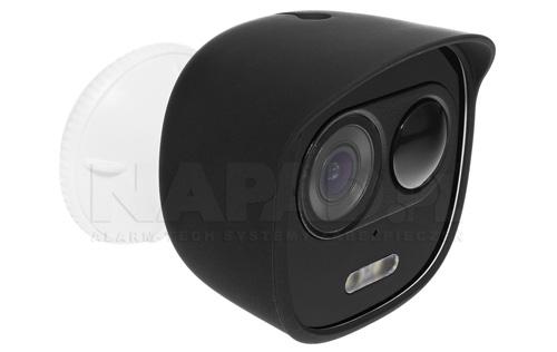 Przykładowy widok kamery LOOC z pokrowcem czarnym.