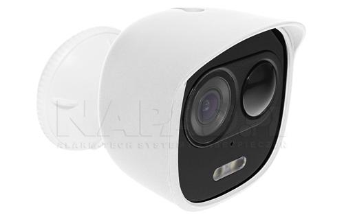 Przykładowy widok kamery LOOC z pokrowcem białym.