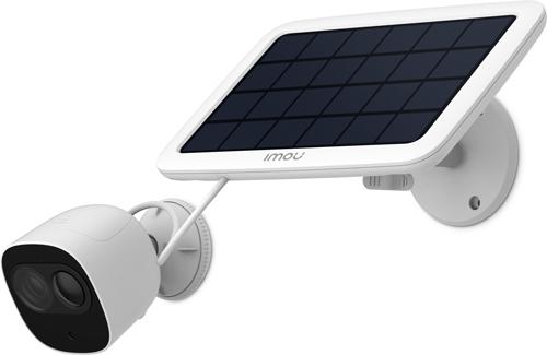 Przykładowe zastosowanie panelu solarnego Imou.