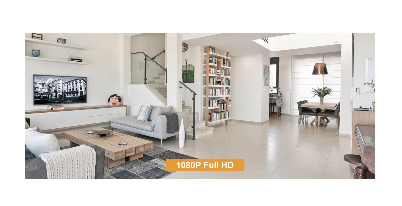 Rozdzielczość Full HD w Kamerze Imou.