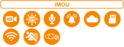 Najważniejsze funkcje kamery Imou.