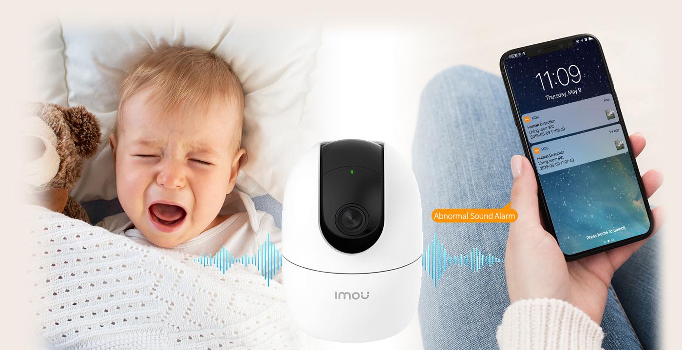 Alarm o wystąpieniu nietypowego dźwięku przed kamerą.