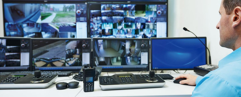 Przykładowe zastosowanie monitora Dahua w monitoringu CCTV.