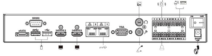M70-D-0204HO - Zastosowane w dekoderze interfejsy.