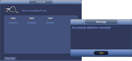 Automatyczne dodawanie kamery - Smart Add.