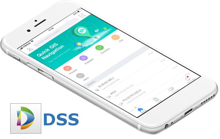 Dahua DSS Mobile.