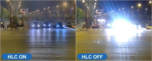 Kompensacja mocnego oświetlenia - HLC.