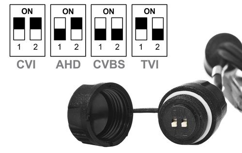 HAC-HDBW2501R-Z-27135 - Instrukcja przełącznika DIP w kamerze Analog HD Dahua.