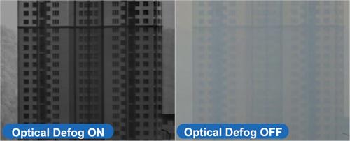Przykład zastosowania funkcji Defog (optyczny).