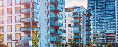 Przykładowe zastosowanie - nowoczesne osiedle.