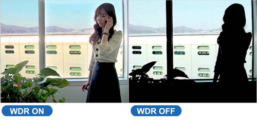 Funkcja WDR w panelu bramowym VTO2000A