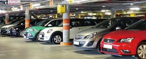 Przykładowe zastosowanie - parking.